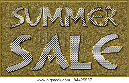 Summer Sales Seasonal Tag