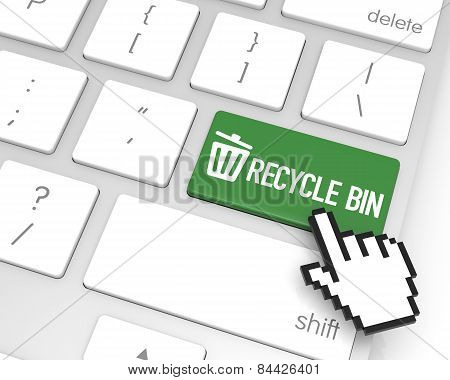 Recycle Bin Enter Key