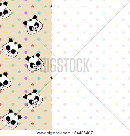 children frame with pandas