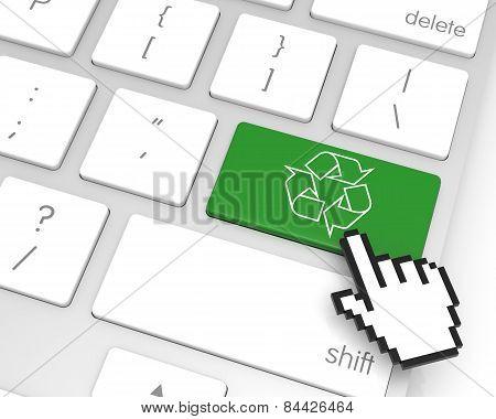 Recycle Enter Key