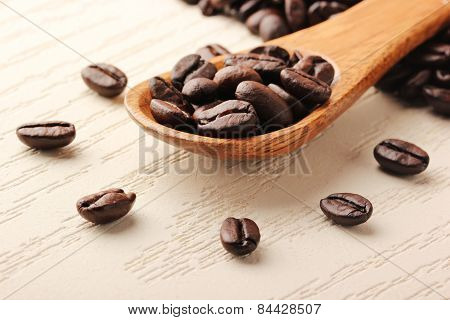 Creativity that coffee and wooden spoon - 2