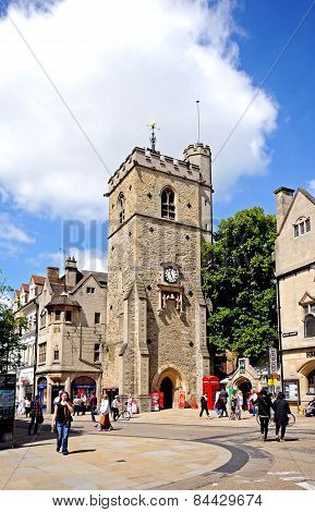 Carfax Tower, Oxford.