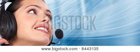 Call Center. Customer Support. Helpdesk.