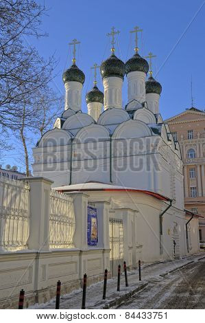 emple of the Holy Prince Michael and Boyar Fedor Chernigov Wonderworkers