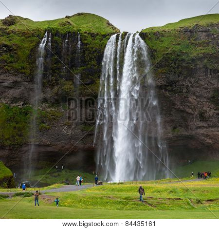 Skogarfoss Waterfall, Iceland