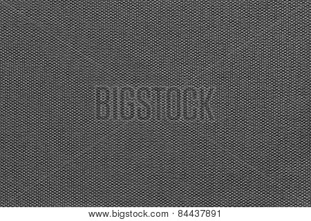 Interlacing Texture Fabric Of Black Color