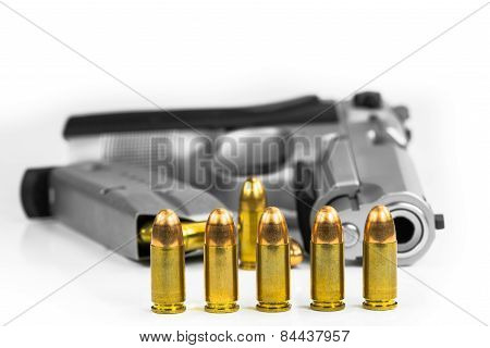 Bullets with the gun