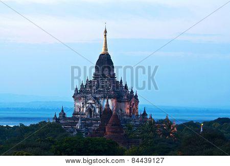 Gawdawpalin Pahto Pagoda In Bagan, Myanmar