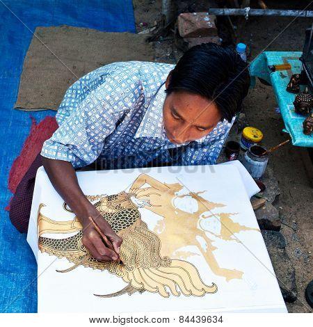 Artist, Myanmar