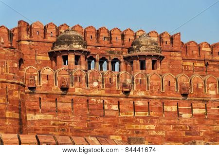 Red Agra Fort