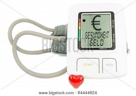 EURO, Gesundheit Geld