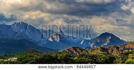 Mountains Kemer Turkey