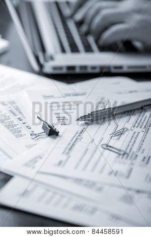 Preparing Tax Forms