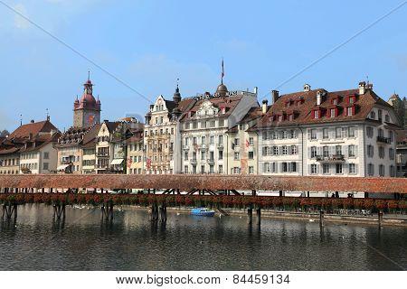 Luzern cityscape