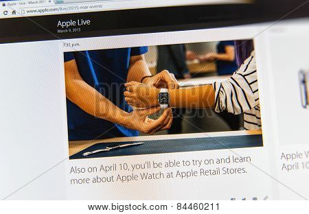 Apple Launches Apple Watch, Macbook Retina And Medical Research App