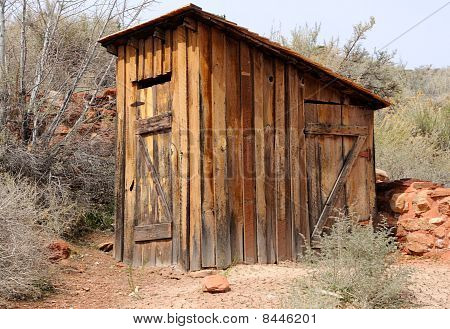Historic Outhouse at Pipe Springs National Monument