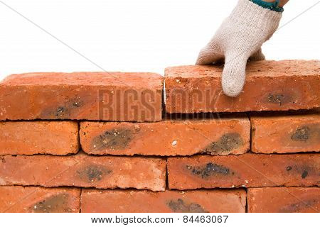 Making Up A Brick Wall With Clipping Path