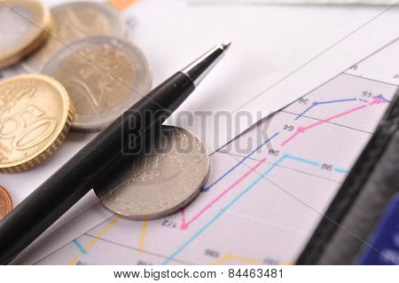 Diagramme And Money