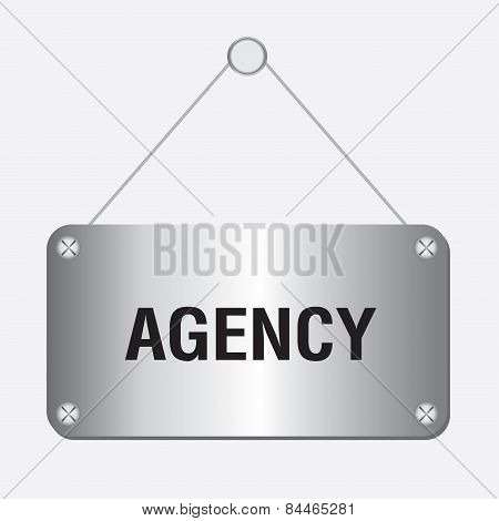 silver metallic agency