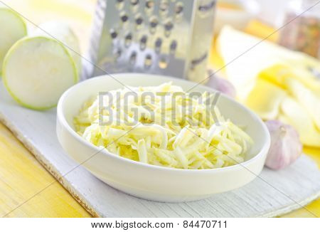 grated marrow