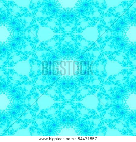 Seamless fractal decorative pattern