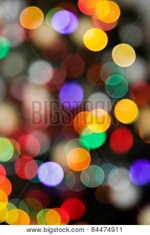 As Simple As A Beautiful Blurry Xmas Light