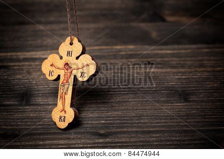 Christian Wooden Cross