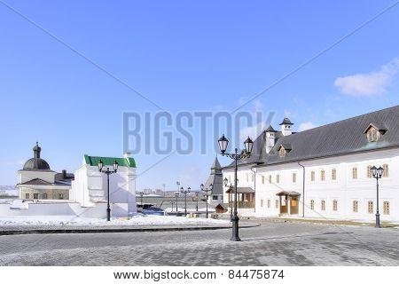 The Territory Of The Kazan Kremlin