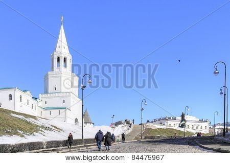 Kazan. Kremlin. Spasskaya Tower
