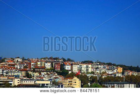 View Of The Yildiz (besiktas), Istanbul.
