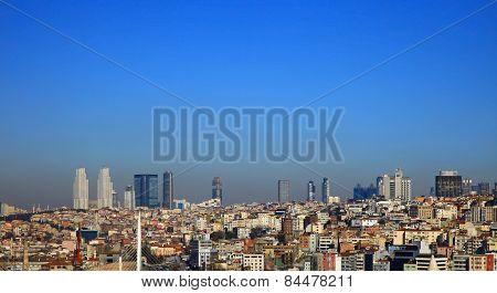 View To Beyoglu, Istanbul.