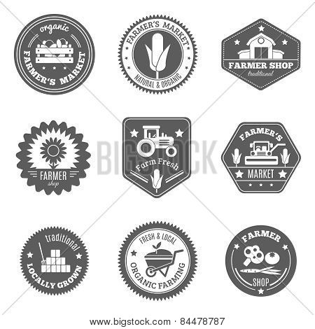 Farmer Label Set