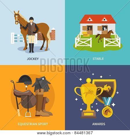 Jockey Flat Set