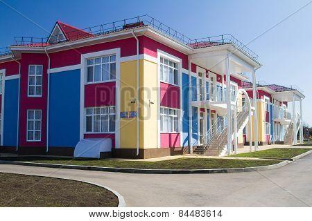Kindergarten school Playground