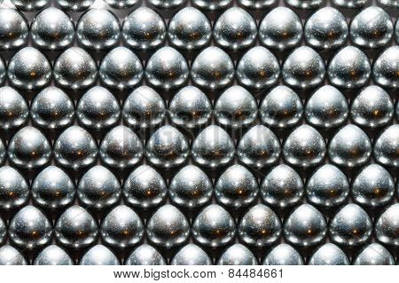 Background metal balls