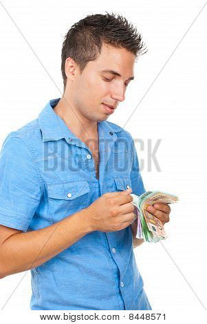 Rich Man Counts His Money