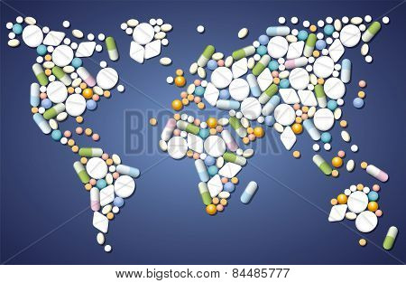 Pills Medicine Worldwide