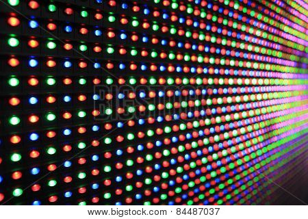 Led Screen - Rgb Diodes Dip Macro