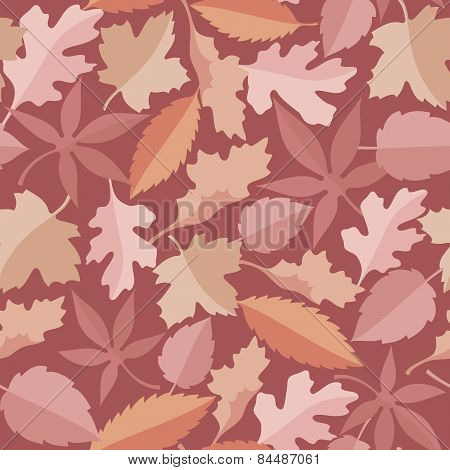 Leaves Marsala Pattern