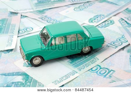The Old Car And Money