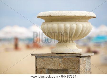 Gypsum Vase