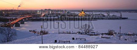 Evening Nizhny Novgorod