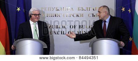 Bulgaria Germany Borisov Steinmeier