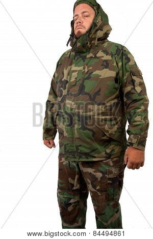 Man In Camouflage
