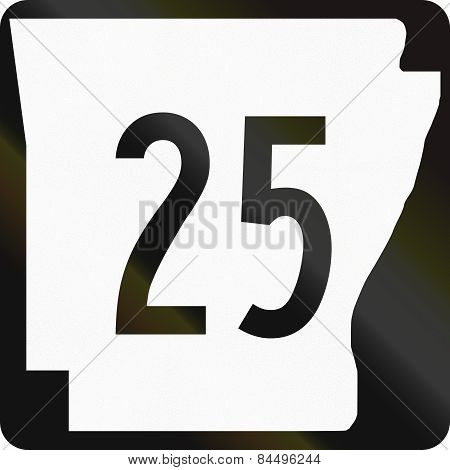 State Highway Shield Arkansas