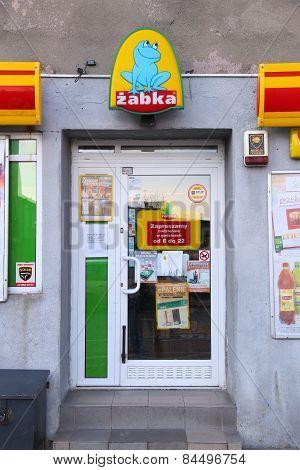 Zabka Store In Poland