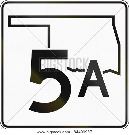 State Highway Shield Oklahoma