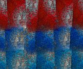 picture of lapis lazuli  - Red and blue lapis lazuli block grunge textured background - JPG
