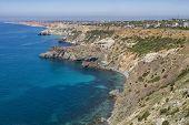 image of sevastopol  - the Black Sea coast near the city of Sevastopol on a clear sunny day  - JPG