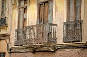pic of valencia-orange  - Old facades in the heart of Valencia Cabanyal district